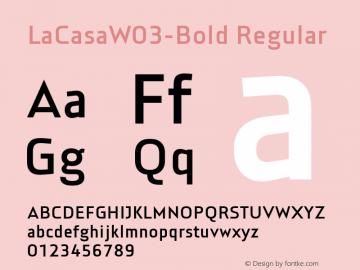 LaCasaW03-Bold