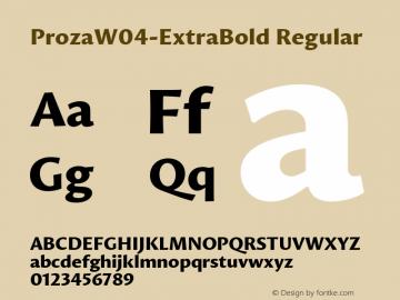 ProzaW04-ExtraBold