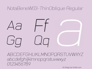 NotaBeneW03-ThinOblique