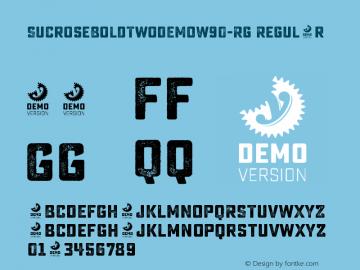 SucroseBoldTwoDEMOW90-Rg