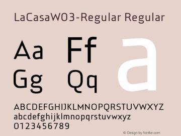 LaCasaW03-Regular