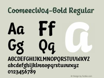 CoomeecW04-Bold