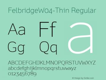 FelbridgeW04-Thin