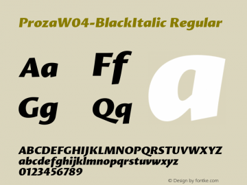 ProzaW04-BlackItalic
