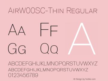 AirW00SC-Thin