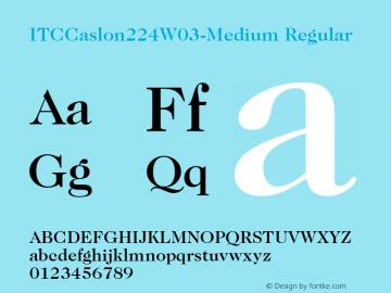 ITCCaslon224W03-Medium
