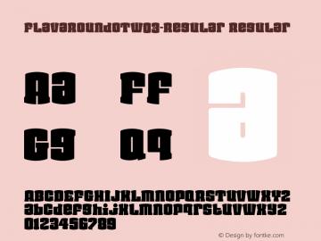 FlavaRoundOTW03-Regular