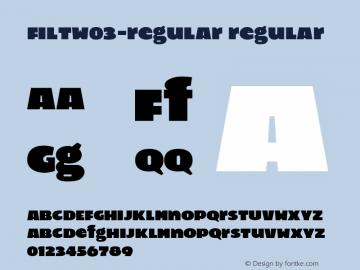 FiltW03-Regular