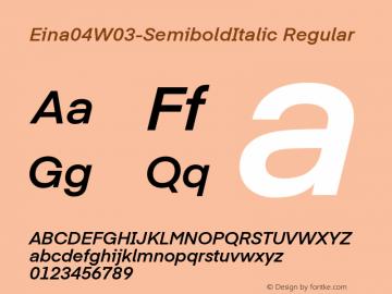Eina04W03-SemiboldItalic