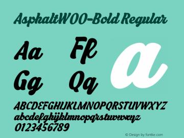 AsphaltW00-Bold