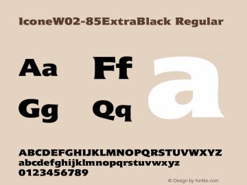 IconeW02-85ExtraBlack