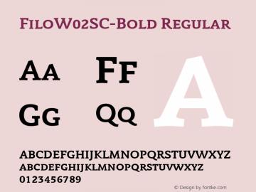 FiloW02SC-Bold