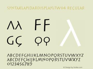 SyntaxLapidarDisplayLTW04