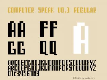 Computer Speak v0.3