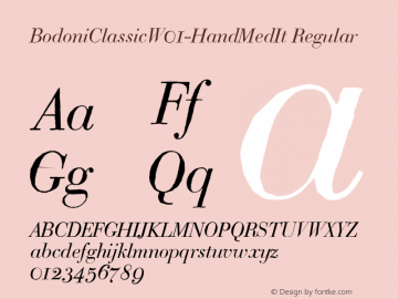 BodoniClassicW01-HandMedIt