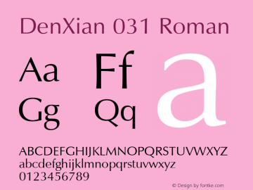 DenXian 031