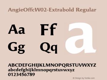 AngieOffcW02-Extrabold