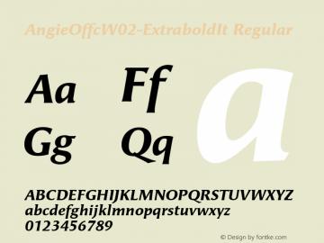 AngieOffcW02-ExtraboldIt