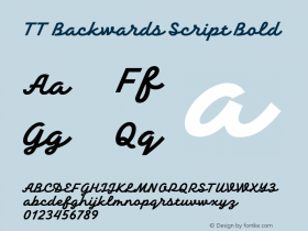 TT Backwards Script