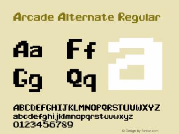 Arcade Alternate