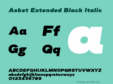 Asket Extended