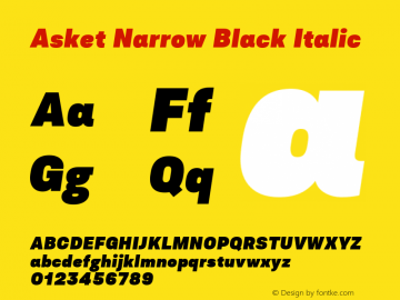 Asket Narrow