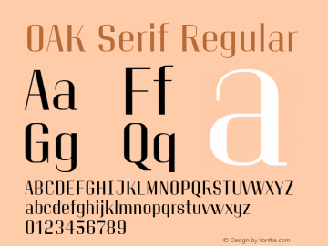 OAK Serif