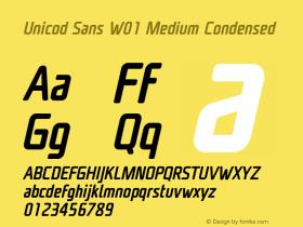Unicod Sans W01
