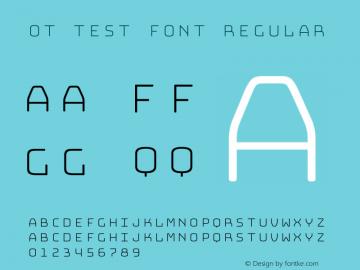 OT Test Font