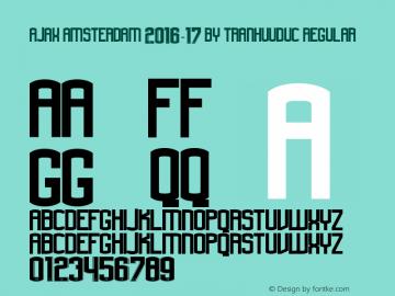 ajax amsterdam 2016-17 by TranHuuDuc