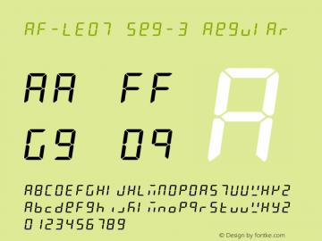 AF-LED7 Seg-3