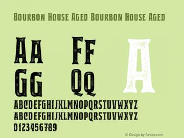 Bourbon House Aged