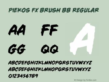 Piekos FX Brush BB