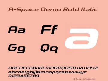 A-Space Demo