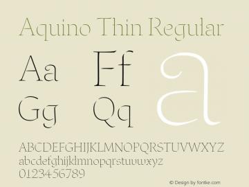 Aquino Thin