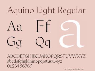 Aquino Light