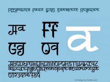 PIXymbols Faux W90 Sanskrit