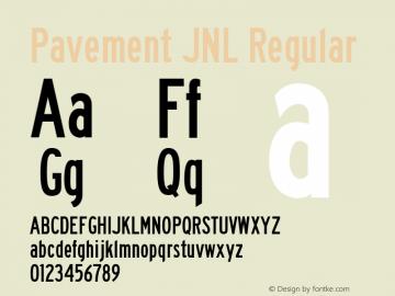Pavement JNL