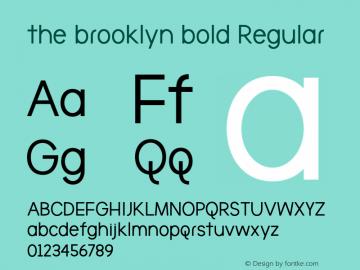 the brooklyn bold