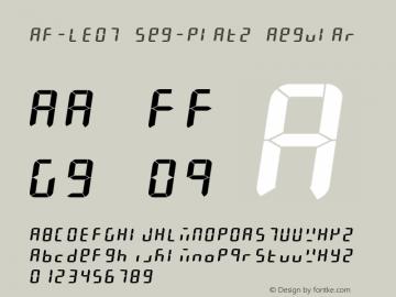 AF-LED7 Seg-Platz