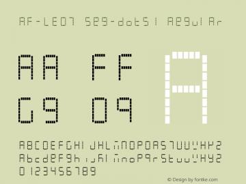 AF-LED7 Seg-dots1