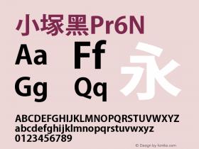 小塚黑Pr6N