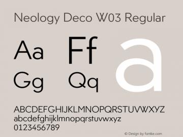Neology Deco W03