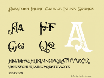 Arbatosh Inline Grunge