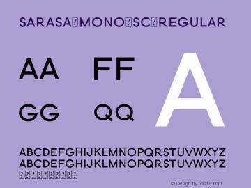 Sarasa Mono SC