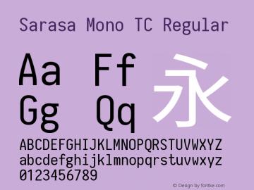 Sarasa Mono TC
