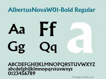 AlbertusNovaW01-Bold