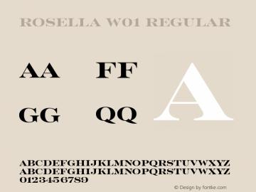 Rosella W01