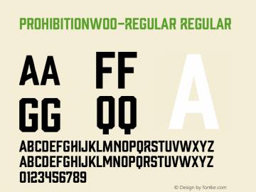 ProhibitionW00-Regular