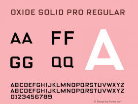 Oxide Solid Pro
